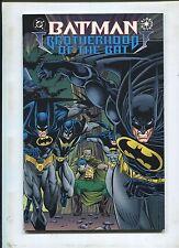 BatMan BrotherHood Of The Bat ~ Trade Paper Back Cover ~ (Grade 9.2 OB)