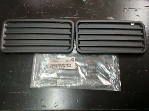 BMW E30-E24 fog light coverings(2) !NEW! GENUINE 51711906287