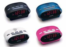 Radiowecker Uhrenradio (2X Weckzeiten, Schlummerfunktion, Sleeptimer)