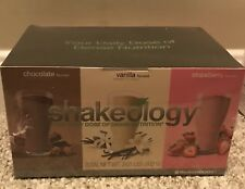 Shakeology Chocolate/Vanilla/Strawberry Box-24 Packets(8 Each Flavor)Ex:4/2020