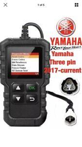 Yamaha Aerox 4 2017 OBD fault code scanner diagnostic tool