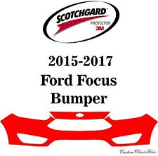 3M Scotchgard Paint Protection Film Clear Bra Pre-Cut 2015 2016 2017 Ford Focus