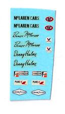 1/43 Marsh Models McLaren M6A decals (original) (MM76)