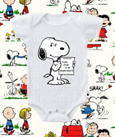 Snoopy Pregnancy Announcement Onesie Shirt Going to be Grandparents 0-3 months
