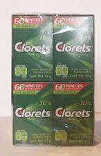Clorets Breath Freshening Gum One Box - 8 packs - 30 Piece of Gum ea Pack 240pcs