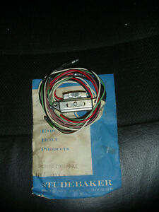 NOS Studebaker 1953-1959 turn signial switch 1549450 in Studebaker envelope