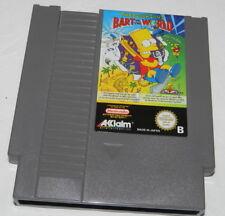 THE SIMPSONS  BART VS THE WORLD      Nintendo  NES Spiel    GETESTET