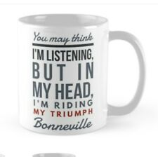 Triumph Bonneville MUG Gift  For someone restoring an unfinished project