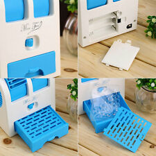 Mini Small Fan Cooling Portable Desktop Dual Bladeless Air Conditioner USB nice
