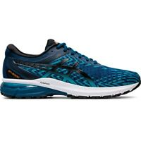 Asics 1011A729-401 GT-2000 8 KNIT Mako Blue Black Men's Running Shoes
