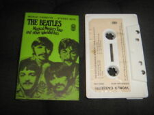 The Beatles Rock Music Cassettes