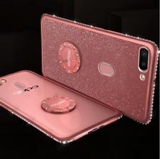 For OPPO Realme 5 / 5i / 5 Pro / K5 / F9 Glitter Magnetic Ring Holder Cover Case