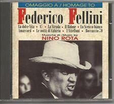 NINO ROTA - Omaggio a Federico Fellini - CD 1993 COME NUOVO
