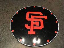 1970's SAN FRANCISCO GIANTS Westclox Lolli-clock Lollypop Face/Dial Baseball