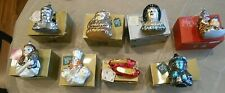 Lot 8 Polonaise Kurt Adler Wizard Of Oz Christmas Ornaments Tags Boxes Hangers