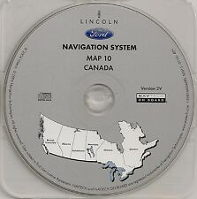 03 04 05 06 Ford Expedition & Escape Hybrid Navigation Disc #10 Cover CANADA Map