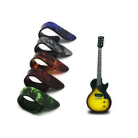 2Pcs Random Color Thumbpick Guitar Pick Celluloid Acoustic Electric Guitarra