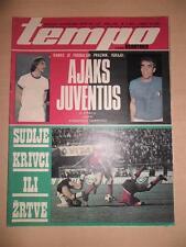 AJAX-JUVENTUS 73 UEFA Champions League Finale Johan Cruyff TEMPO Magazine rare