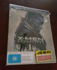 *NEW & SEALED* X Men Apocalypse - Blu Ray Steelbook Limited Edition JB Hifi. AUS