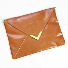 Nordstrom Faux Leather Envelope Clutch