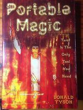 MAGICK!~PORTABLE MAGIC~TAROT ALTAR~TOOLS~GOLDEN DAWN~CEREMONIAL~NEW BOOK!!!