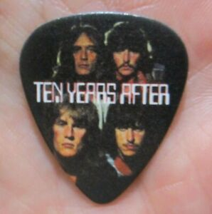 TEN YEARS AFTER Collectors Guitar Pick - Alvin Lee & Co. Photo Pic, Bong Rock