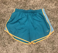 Nike Womens Dri-Fit Green Athletic Running Shorts Size XL Kids