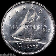 *** 1973 CANADA 10 CENTS UNCIRCULATED ***