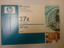 HP 27X C4127X 4000 4050 BLACK TONER CARTRIDGE BOXED VAT INCLUDED SAMEDAY_POST