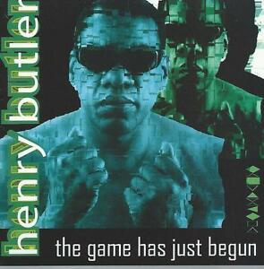 jazz cd  HENRY BUTLER THE GAME HAS JUST BEGUN  BOOGIE