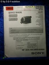 Sony Service Manual DCR DVD91E /DVD101 /DVD101E Digital Video (#4442)