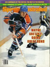 1982 2/15 Sports Illustrated,magazine,Hockey,Wayne Gretzky, Edmonton Oilers~VGNL