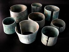 Whole Sale 8 Ancient Bronze Bangle Very Beautiful & Rare Type Cheap Don't Miss*
