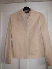 "LADIES COTTON JACKET "" (SIZE 12 )"" BEIGE COLOUR"".(  SUMMER )"""