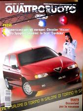Quattroruote 463 1994 Prove Chrysler Vision. La Seat Cordoba. Honda Accord [Q92]