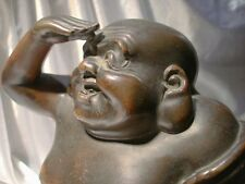 bronze buddha oriental xuantong guanxu meiji period patina china japan india