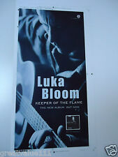 LUKA BLOOM CHRISTY MOORES BROTHER POSTER UNRELEASED ARTWORK KEEPER OF THE FLAME