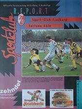 Programm 2. BL 1992/93 SC Freiburg - Fortuna Köln