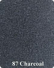 16 oz Cutpile Marine Outdoor BASS Boat Carpet - 1st Quality - 6'X25'- CHARCOAL