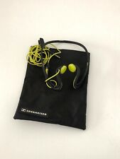 Sennheiser OMX 680I Sports Black Ear-Hook Headsets with bag