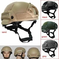 Outdoor Army Airsoft Military Tactical Combat Riding Hunting Protective Helmet