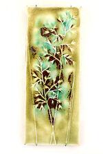 an Annikki Hovisaari wall plaque for Arabia. Finnish floral design. 1960's