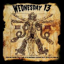 """Wednesday 13 - Monsters Of The Universe : Come Out & Plague (NEW 12"""" VINYL & 7"""")"""