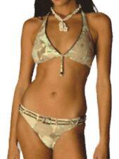 Polyamide V Neck Bikini Sets for Women