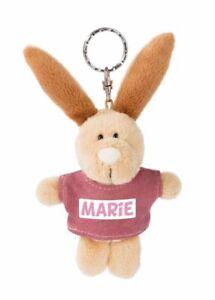 NICI Schlüsselanhänger Hase Marie 10cm m. T-shirt