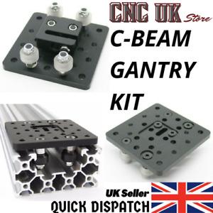 C-BEAM GANTRY PLATE KIT FOR V-SLOT CNC ROUTER ACTUATOR ALUMINIUM EXTRUSION