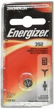 100 Pack Energizer 392 Button Cell Watch 1.55V Battery