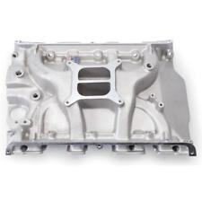 Edelbrock Intake Manifold 2105; Performer Satin Aluminum for Ford 332-428 FE