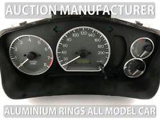 Mitsubishi Lancer Evo 1996-2003 Aluminium Polished Chrome Dial Rings  Set Of 4