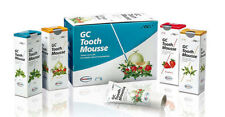 2x, 3x or 4x GC Tooth Mousse 40g Tubes - Mint, Strawberry & Vanilla Flavours